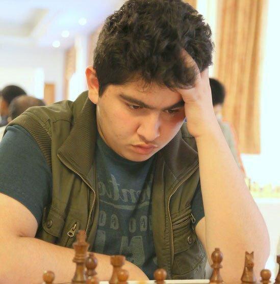 توقف پرهام مقصودلو در خاتمه دور ششم مسابقات شطرنج سوئیس
