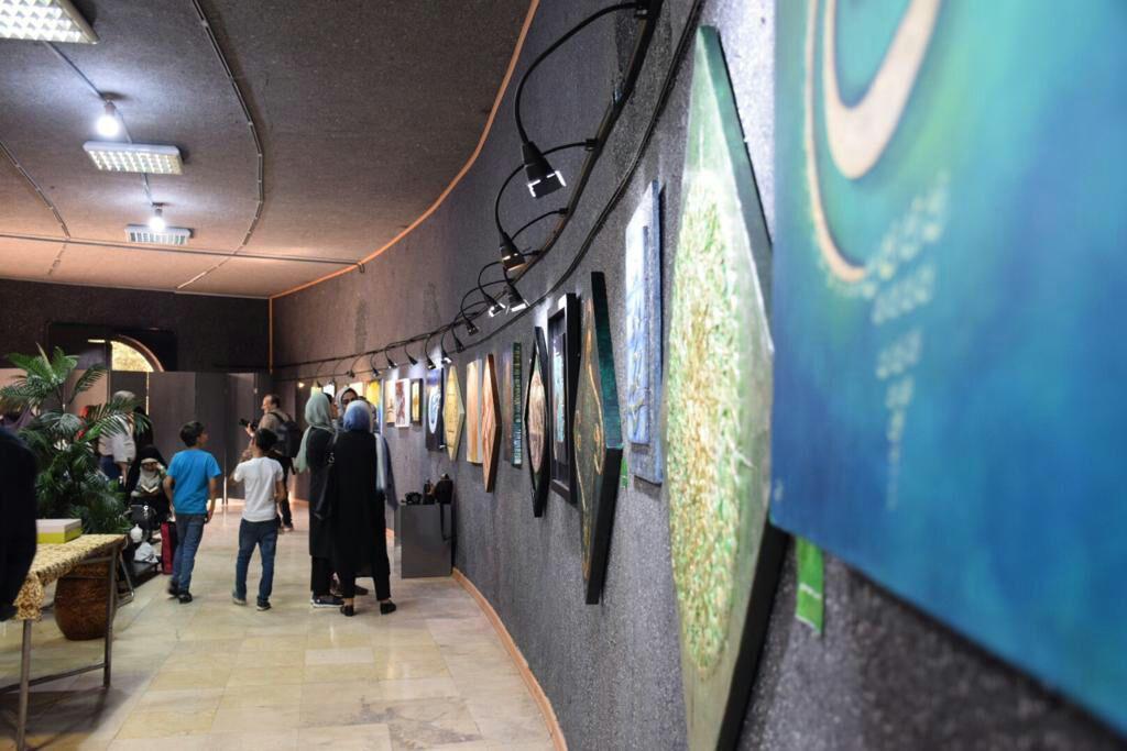 ارادت هنرمندان به ساحت امیرالمومنین (ع) در نمایشگاه غدیرخم
