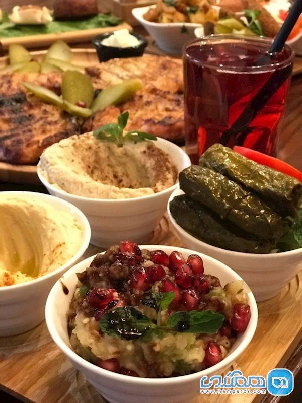 رستوران لبنانی یاسمینا ، تجربه جدید از غذاهای لبنانی