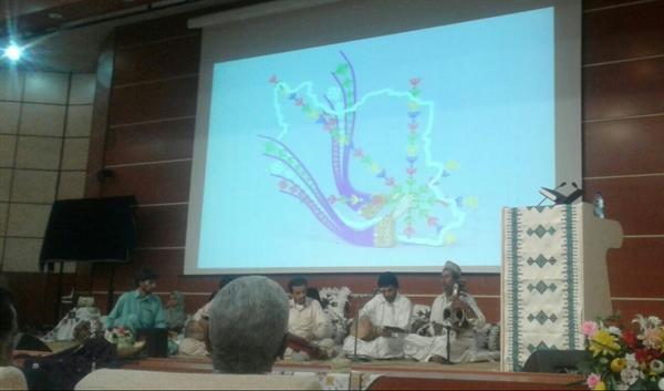 مراسم جشن ثبت ایرانشهر به عنوان شهر ملی سوزن دوزی برگزار گشت، رونمایی از تمبر یادبود شهر سوزن دوزی