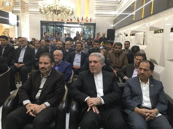 افتتاح هتل 3ستاره باران اصفهان با حضور مونسان