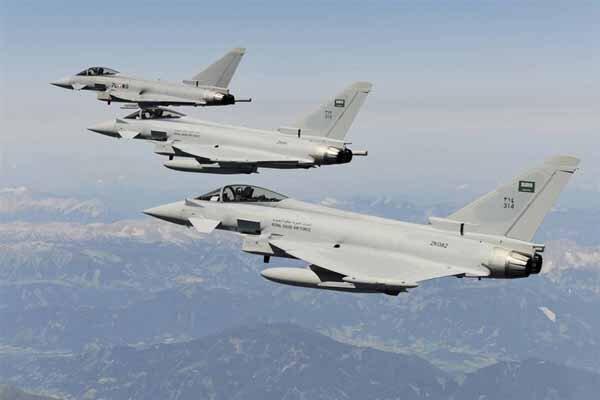 حملات جنگنده های متجاوز سعودی به استان صعده یمن