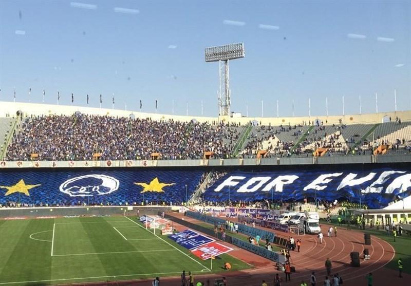 حاشیه دربی 90، شعار هواداران استقلال علیه فتاحی و واکنش بیرانوند به شعار آبی ها