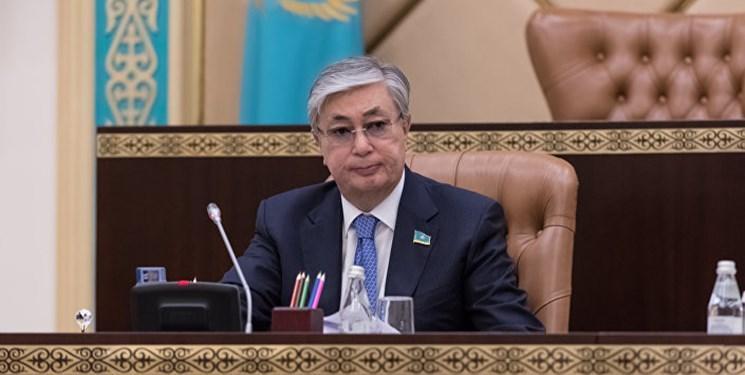 رئیس جمهور قزاقستان وارد آمریکا شد