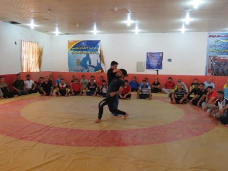 آموزش دفاع شخصی به کارکنان یگان حفاظت میراث فرهنگی خوزستان