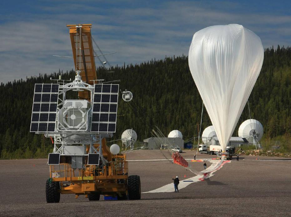 تلسکوپ فضایی سوار بر بالون هلیومی به شکار خورشید می رود