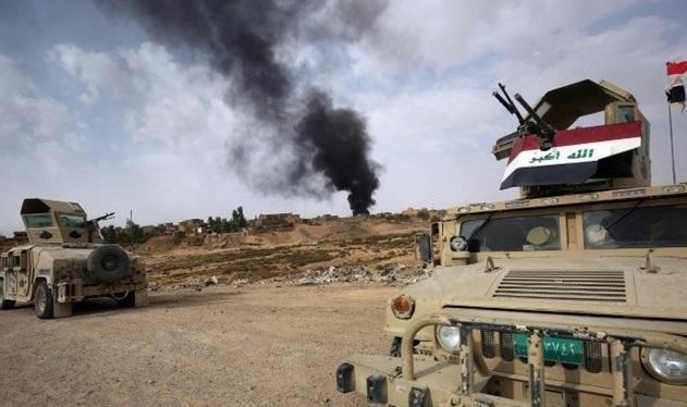 الحشد الشعبی 10 روستا را در دیالی پاکسازی کرد