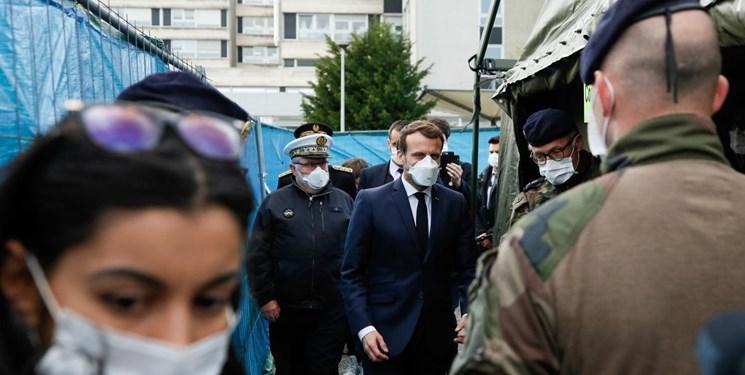 ماکرون: با کمبود ماسک، دستگاه یاری تنفسی و دارو مواجهیم