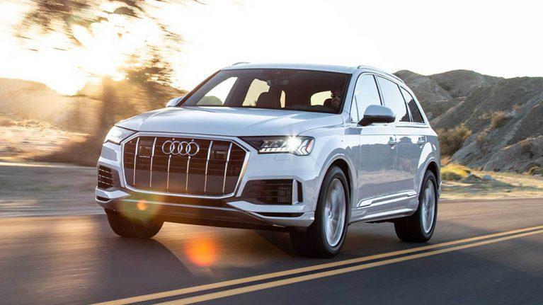 تجربه رانندگی با آئودی Q7 مدل 2020