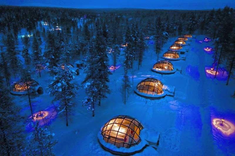 بهترین هتل های یخی دنیا کدامند؟