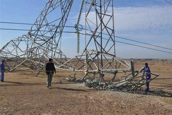 تروریست ها خط انتقال برق بغداد را از مدار خارج کردند