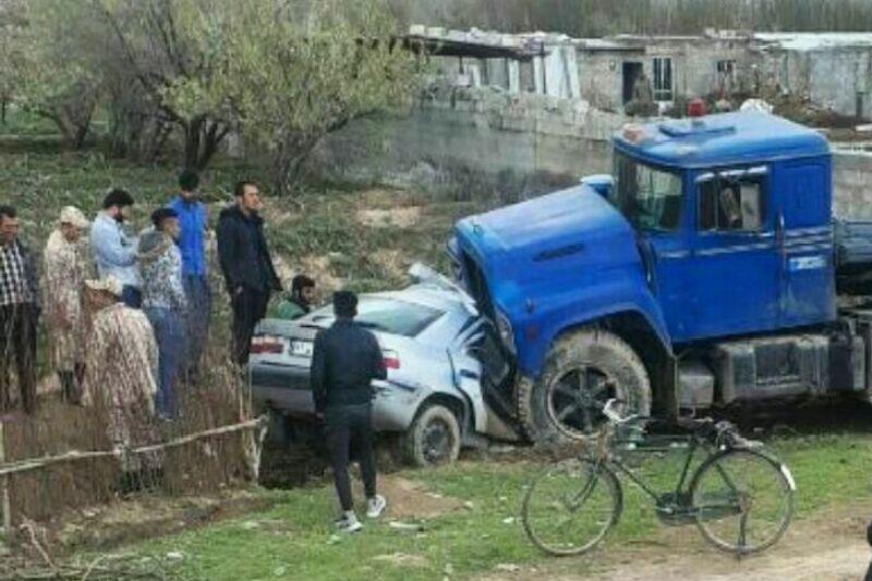 خبرنگاران حادثه رانندگی در جاده اسلام آبادغرب 2 کشته بر جا گذاشت