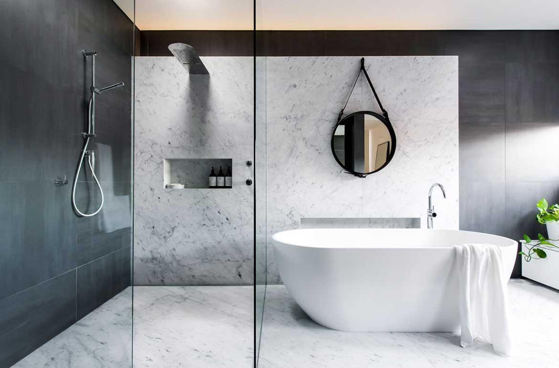 بهترین نقشه ها برای طراحی حمام های کوچک و بزرگ