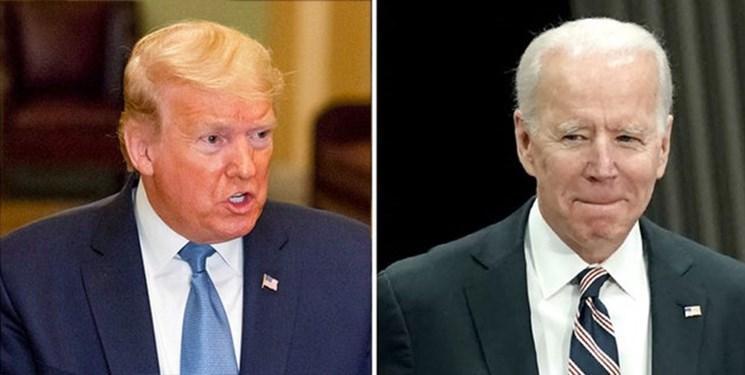 جو بایدن بازهم ازدونالد ترامپ پیش افتاد