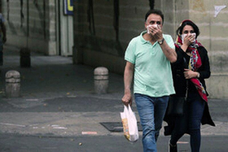 پیش بینی وزش باد شدید همراه با گرد و خاک در تهران