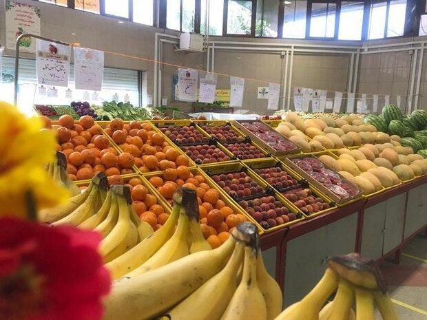 تنوع میوه های میادین میوه و تره بار به 31 قلم افزایش یافت
