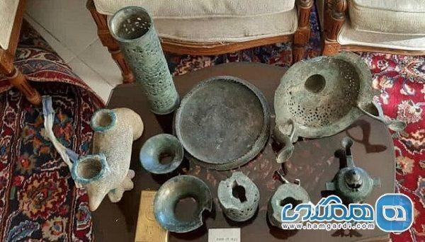 اعلام کشف عتیقه جات 1500 ساله در سمنان