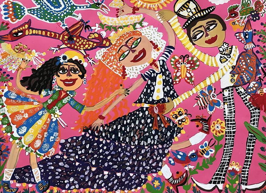 خبرنگاران درخشش بچه ها و نوجوانان لرستان در مسابقه بین المللی نقاشی