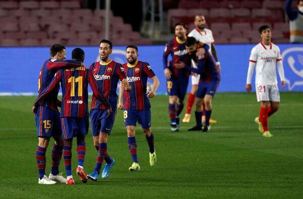 بارسلونا 3 - 0 سویا؛ صعود خاطره انگیز به فینال خبرنگاران
